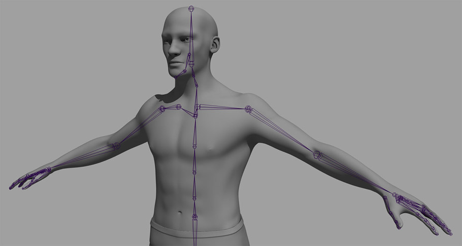 Maya rigging Introduction to rigging_01